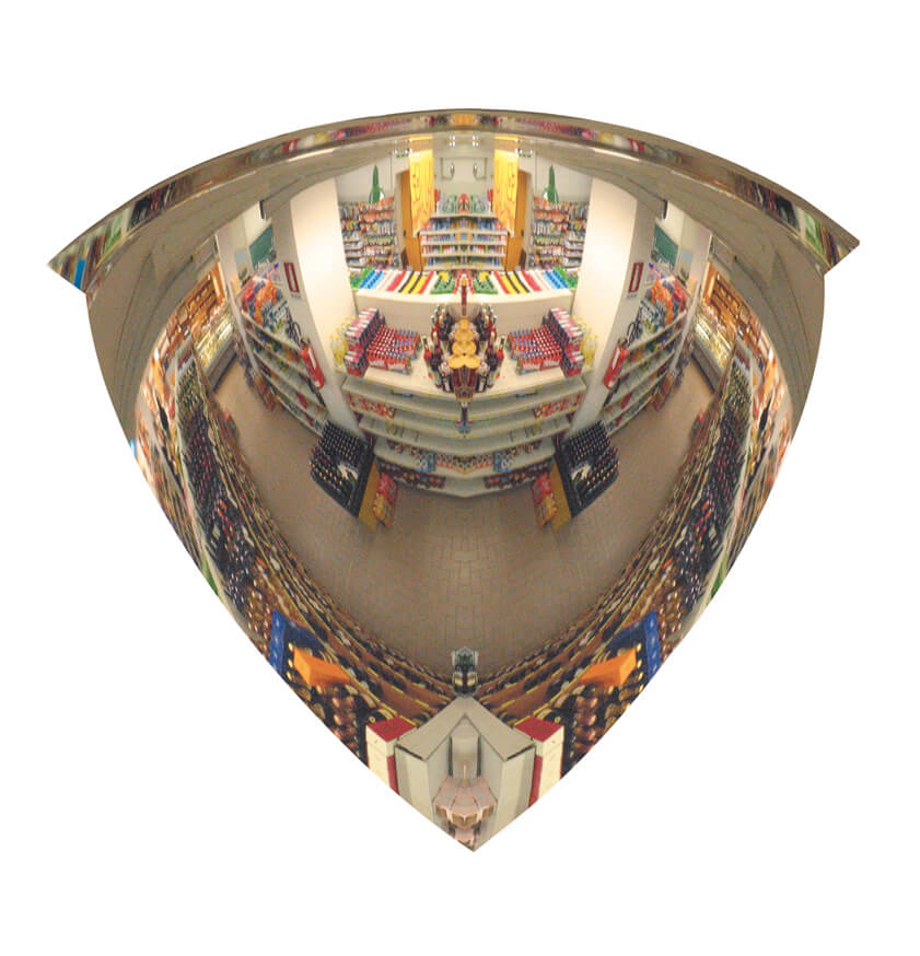 Quarter Dome Security Mirror