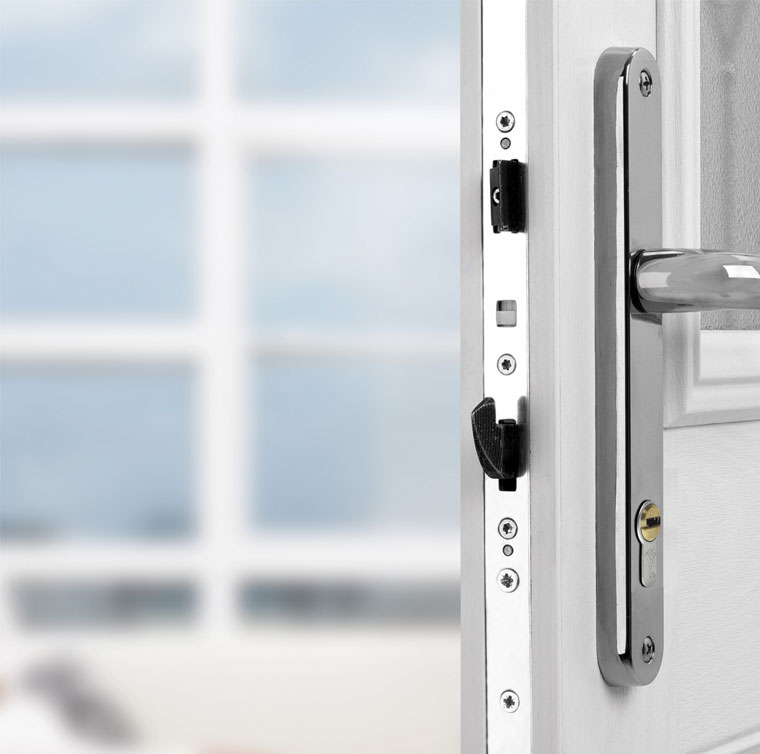 Image of a multi point on door